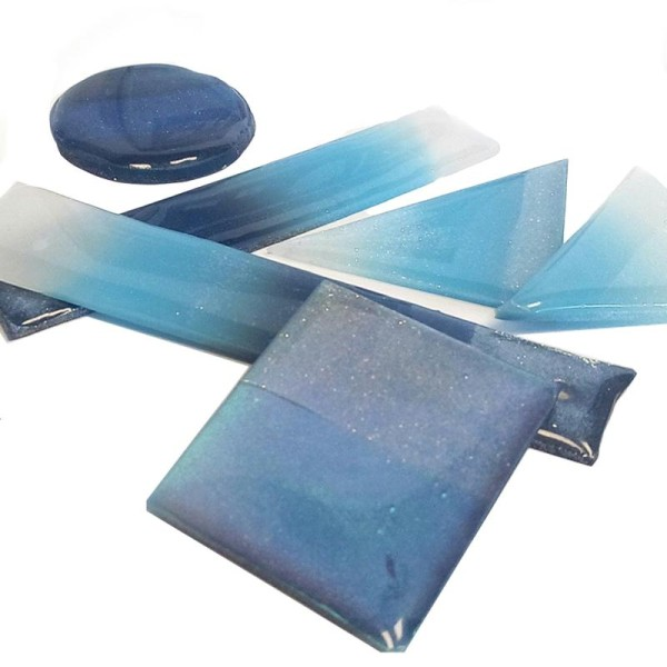 Poudre de Mica et de verre Cernit Sparkling (Cernit Sparkling - Couleurs et poids Diamond Violet 5g) - Photo n°3