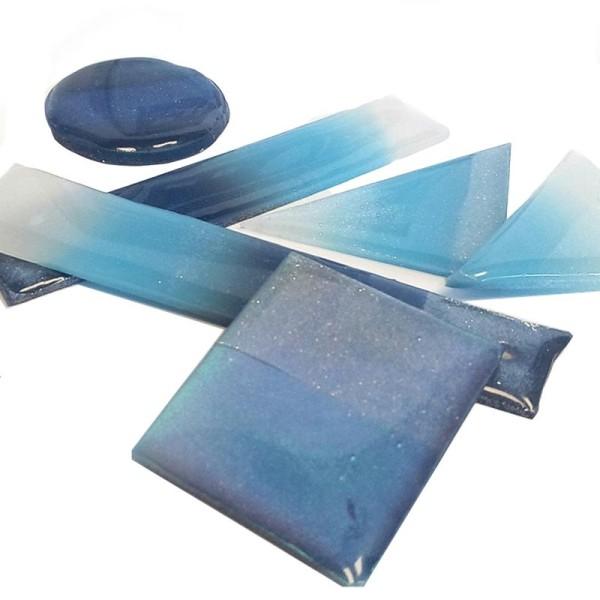 Poudre de Mica et de verre Cernit Sparkling (Cernit Sparkling - Couleurs et poids DUO Artic Fire 2g) - Photo n°4