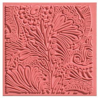 Plaque de texture pour pâte polymère Cernit (Plaque de texture FANTASY)