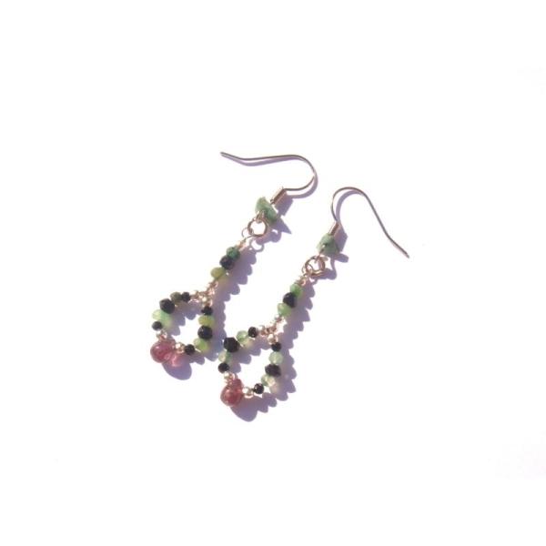 La Rosée des Fées : BO Spinelle et Emeraude 5,3 CM de hauteur - Photo n°2