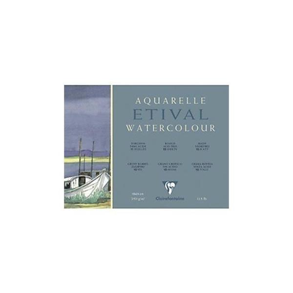 Clairefontaine 96560C Bloc pour aquarelle Etival 18 x 24 cm 250 g Import Allemagne - Photo n°1