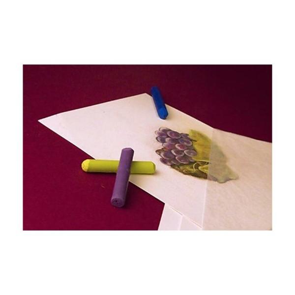 Pastelmat Bloc - Blanches 360g 30x40cm 12 feuilles - Photo n°2