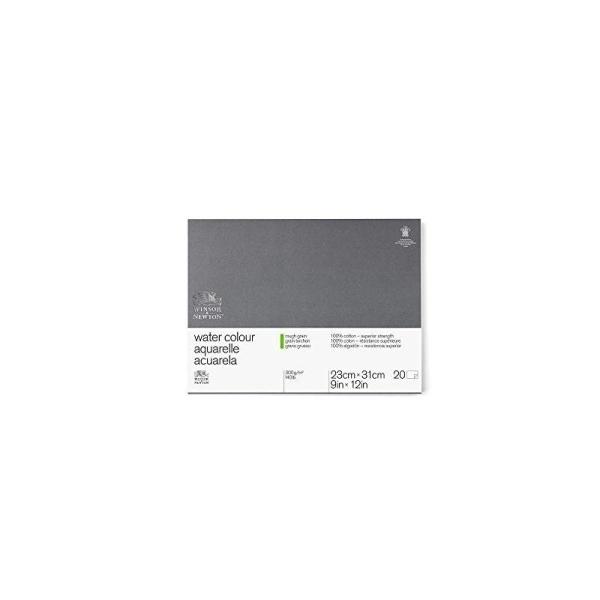WINSOR & NEWTON Professionnel Papier Aquarelle Bloc 300g/m grain torchon 22,9 x 35 cm - Photo n°1