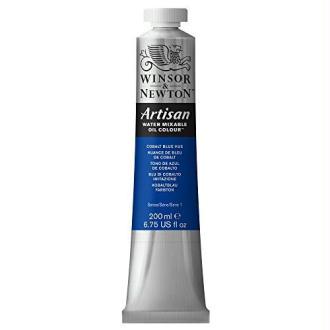 Winsor & Newton Artisan Huile mixable à l'eau : 200ml Bleu de Cobalte Hue