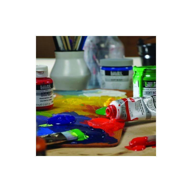 liquitex professionnel soft body tube de peinture acrylique 59 ml titanium blanc peinture. Black Bedroom Furniture Sets. Home Design Ideas