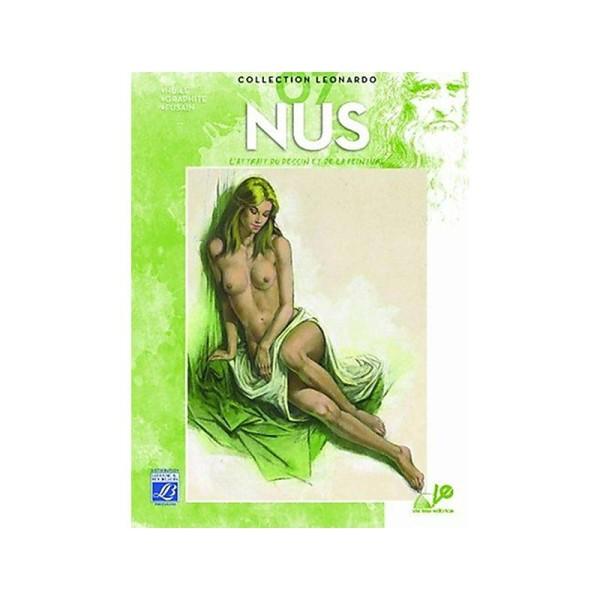 Lefranc & Bourgeois Léonardo n°7 Album d'étude Nus - Photo n°1