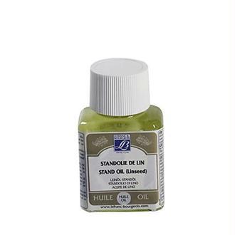 Lefranc & Bourgeois Peinture Additif huile standolie de lin Flacon 75 ml Transparent