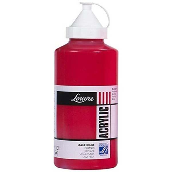 Lefranc & Bourgeois Peinture Acrylique louvre 750 ml Laque Rouge - Photo n°1