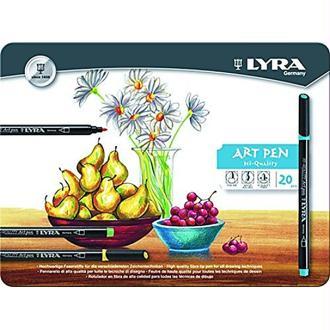 Lyra L6751200 Stylo feutre Noir