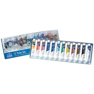 Winsor & Newton Cotman Lot de 12 tubes d'aquarelle 8 ml