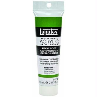 Liquitex Professional Heavy Body Tube de Peinture acrylique 59 ml Vert oxyde de chrome