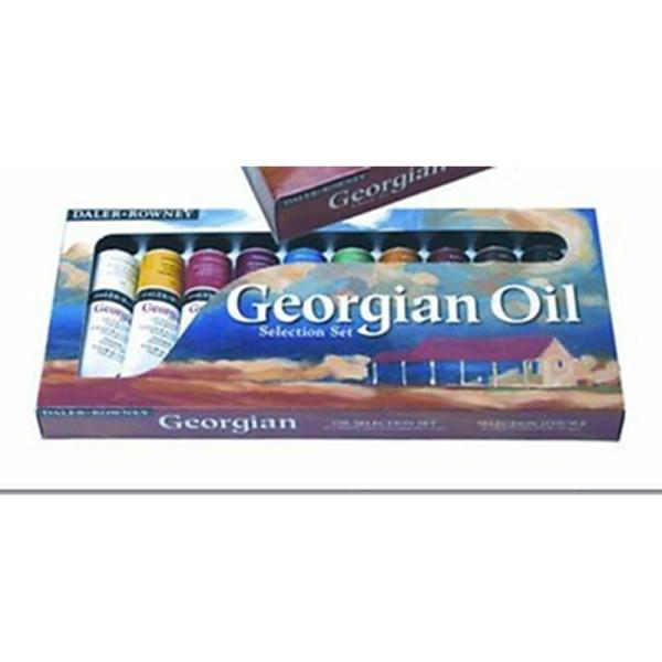Daler-Rowney Georgian Oil Coffret de peinture à l'huile - Photo n°1