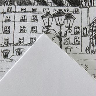 Canson Arts graphiques 200451121 Papier Bristol 250g A3 29,7 x 42 cm Extra Blanc Lot de 250 feuilles