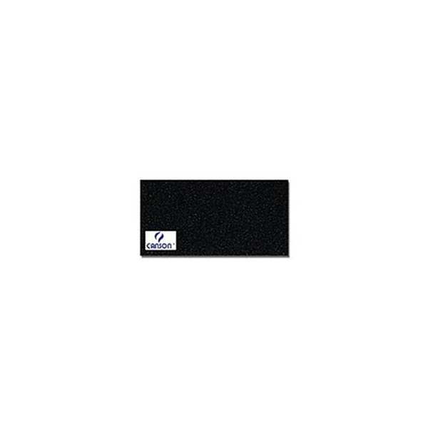 Canson 200361014 Mi-Teintes ManiPaquet de 25 feuilles papier dessin Format 50 x 65 cm 160 g Noir - Photo n°2