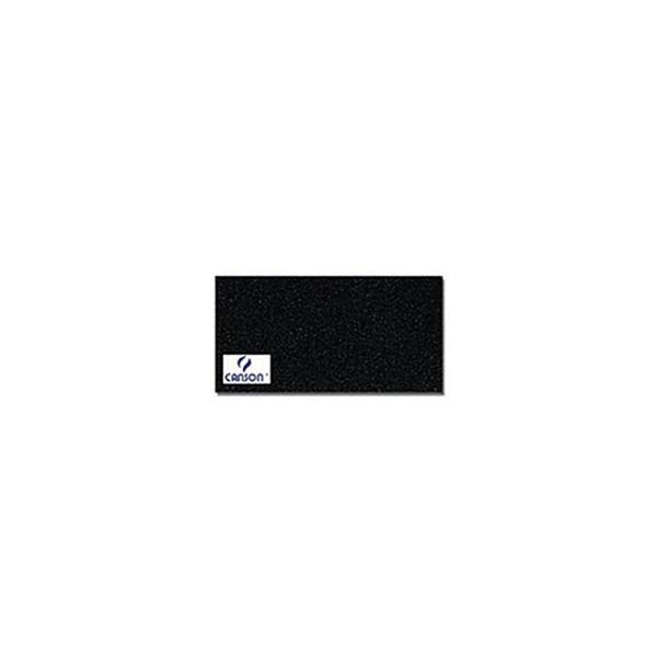 Canson 200361014 Mi-Teintes ManiPaquet de 25 feuilles papier dessin Format 50 x 65 cm 160 g Noir - Photo n°3