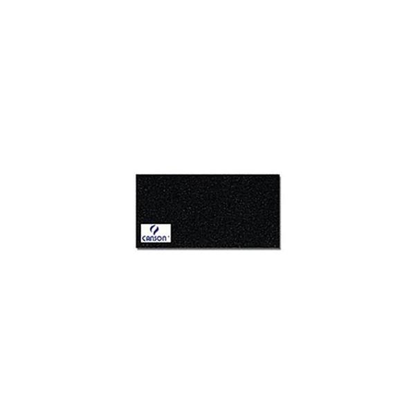 Canson 200361014 Mi-Teintes ManiPaquet de 25 feuilles papier dessin Format 50 x 65 cm 160 g Noir - Photo n°1