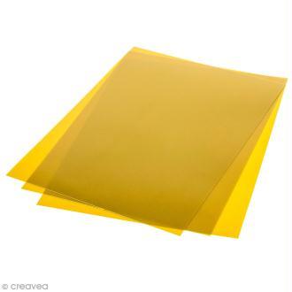 Plastique Fou - Doré - 7 feuilles