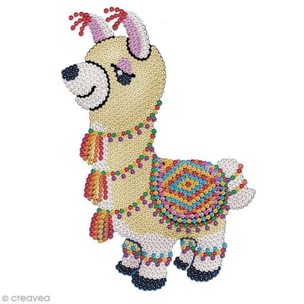 Sequin Art - Cuzco le lama - Photo n°1