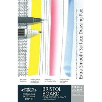 Winsor & Newton Bloc de carton bristol à dessin extra lisse A3