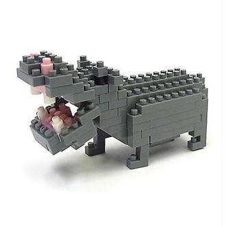 Nanoblock - Nbc-049 - Jeu De Construction - Hippopotames