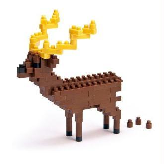 Nanoblock - Nbc-014 - Jeu De Construction - Sika Deer