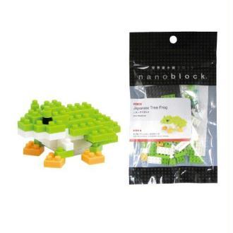 Nanoblock - Nbc-007 - Jeu De Construction - Japanses Tree Frog