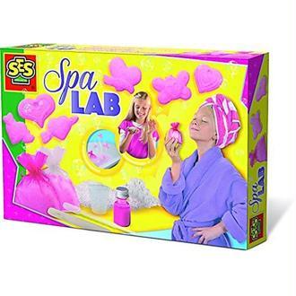 SES Creative - 14962 - Spa Lab - Confectionner Savons Effervescents et Sels de Bains