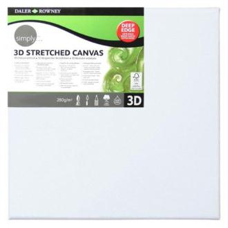 Daler Rowney - 515086060 - Kit De Loisirs Créatifs - Toile 3D Simply - 60 X 60Cm