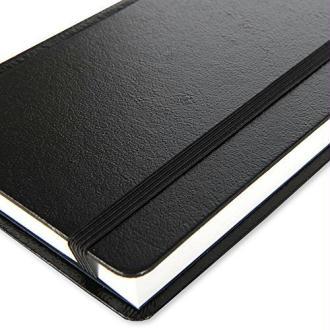 Canson Art Book Universal 200006457 Livre de dessin 112 feuilles 96g 21,6 x 27,9 cm Noir