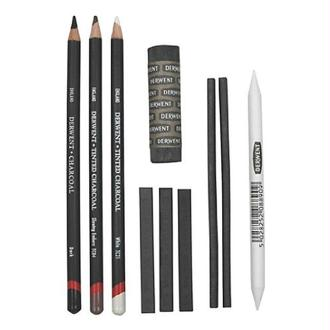 Derwent Set de crayons fusains