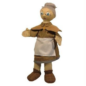 Au Sycomore - MA35017 - Marionnette à Main 35 cm - Mère Grand