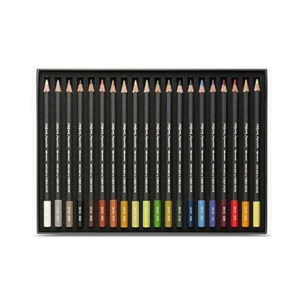 Caran d'Ache Museum Aquarelle Lot de 12 crayons aquarelle de qualité extra fine - Photo n°2