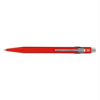 Caran d'Ache 849 Stylo à bille métal Rouge métallisé (Import Royaume Uni)