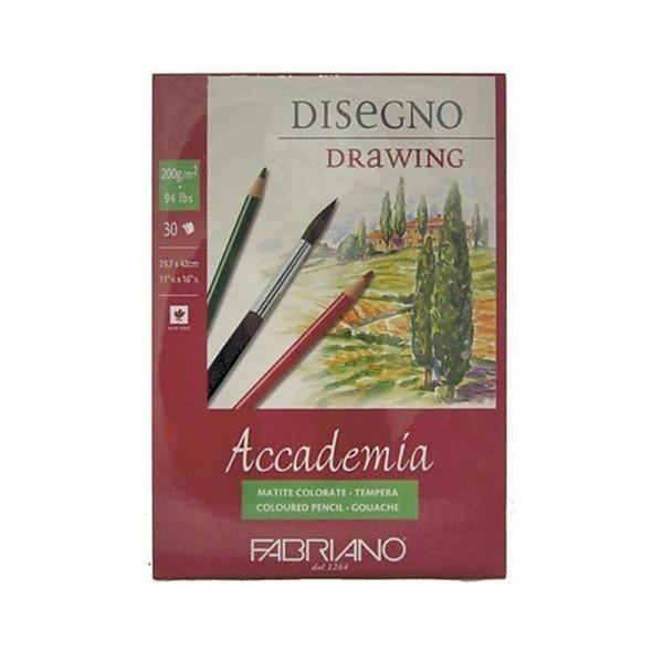 Fabriano Accademi Dess Papier à dessin A3 29,7 x 42 cm Blanc - Photo n°1