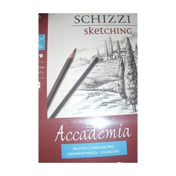 Fabriano Accade Esqui Papier à dessin A4 21 x 29,7 cm Blanc - Photo n°1