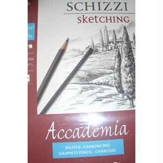 Fabriano Accade Esqui Papier à dessin A4 21 x 29,7 cm Blanc