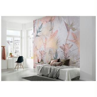 Papier peint intissé Tropical Concrete (368 x 254 CM)