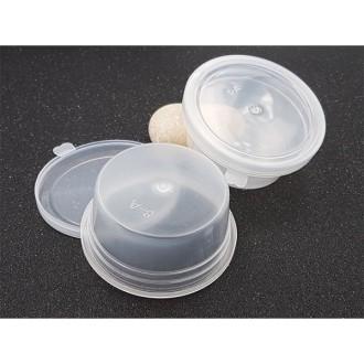 2 Boîtes De Conservation Pour Slime 6.7cm