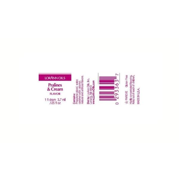 Arôme extra fort - Pralines et crème - 3.7 ml - Photo n°2