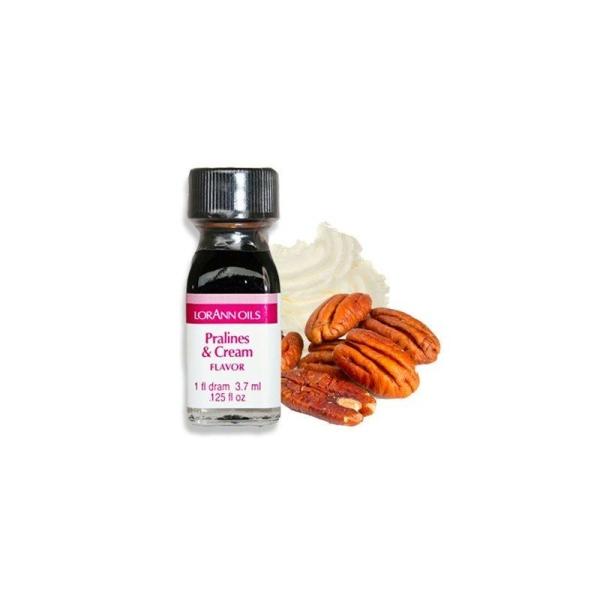 Arôme extra fort - Pralines et crème - 3.7 ml - Photo n°1
