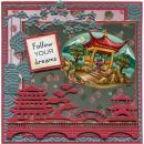 Images 3D prédécoupées Amy Design - Paysage asiatique - Photo n°2