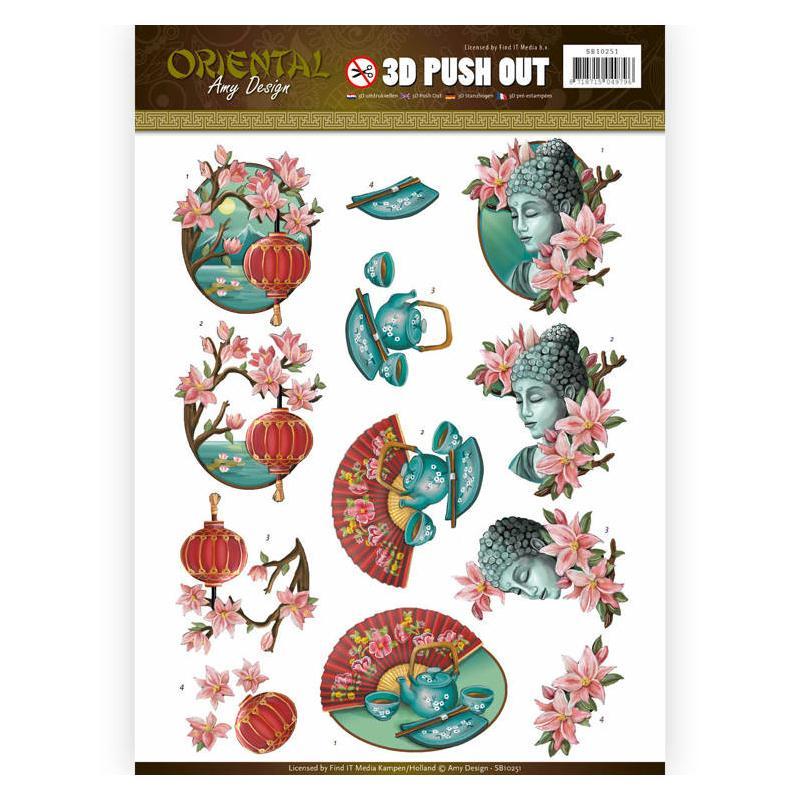 Images 3D prédécoupées Amy Design - Culture asiatique - Photo n°1