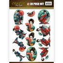 Images 3D prédécoupées Amy Design - Geisha