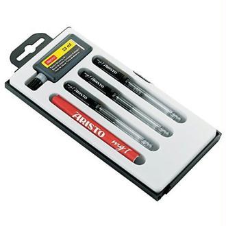Aristo AH64300 Lot de 3 stylos à encre de Chine