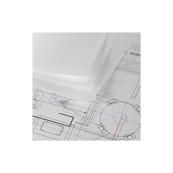 Canson 200061100 Papier jet d'encre Opaque archive 90g A2 42 x 59,4 cm Ultra Blanc Lot de 250 - Photo n°1