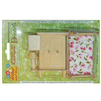 Kit en bois Chambre à coucher miniature