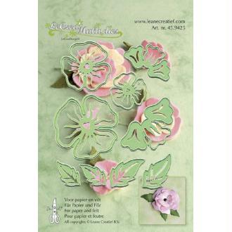 Die Leane creatief - multi die flower 005 - 9 pcs