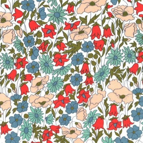 Tissu Liberty Poppy Daisy A - Photo n°1