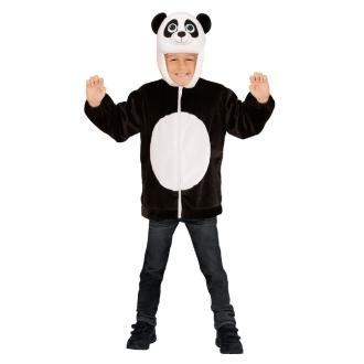 Veste de panda en peluche - 3/5 ans
