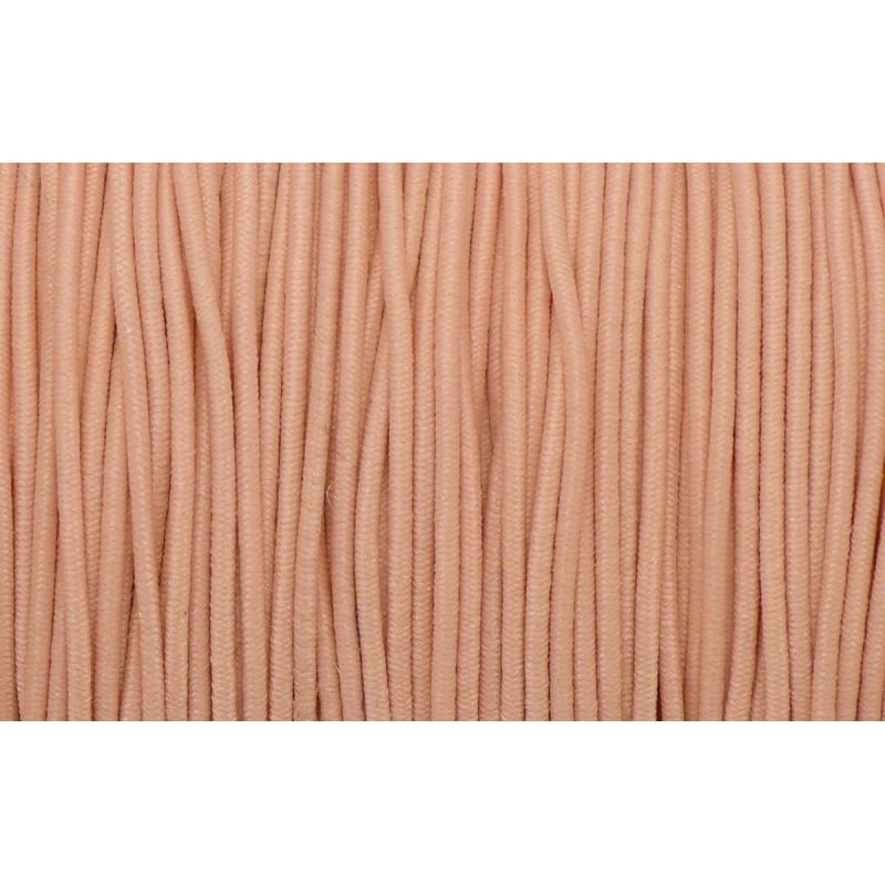 5m fil lastique 1mm de couleur orange saumon clair fil lastique creavea. Black Bedroom Furniture Sets. Home Design Ideas